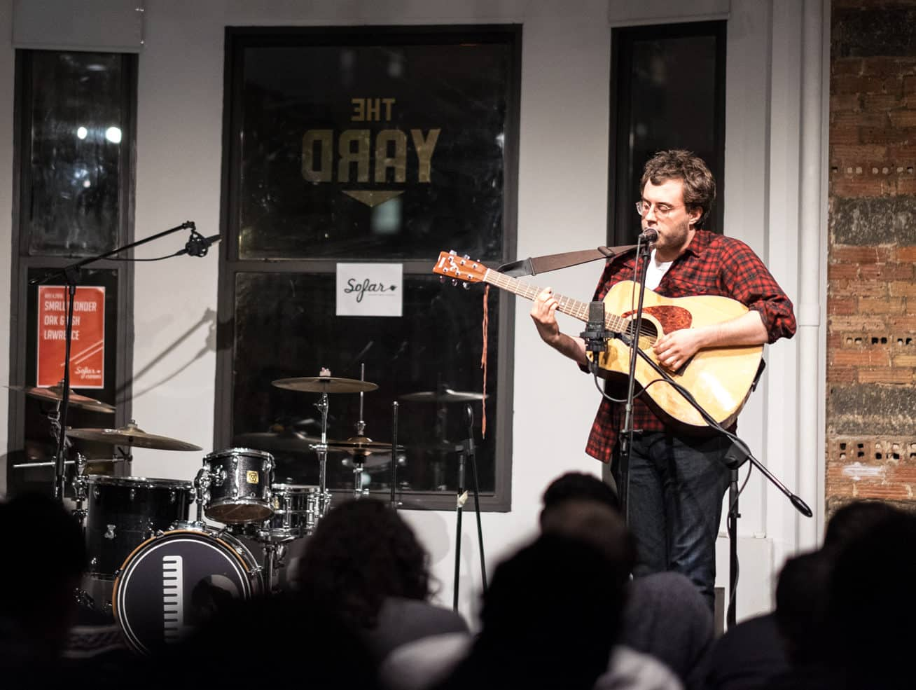 night of music The Yard coworking space nyc and philadelphia shared office space sofar sounds