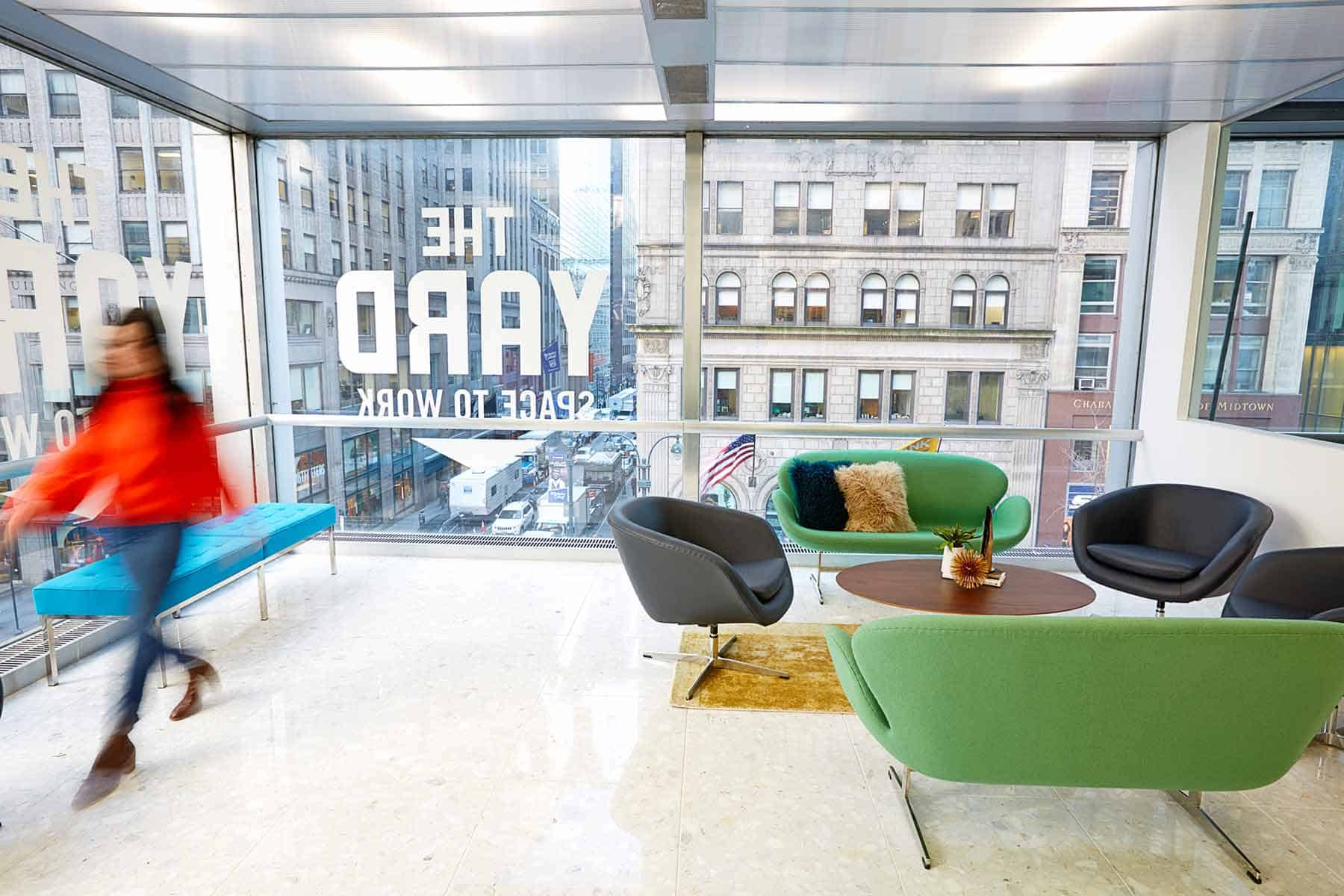 Coworking & Private Office Space near Bryant Park | The Yard