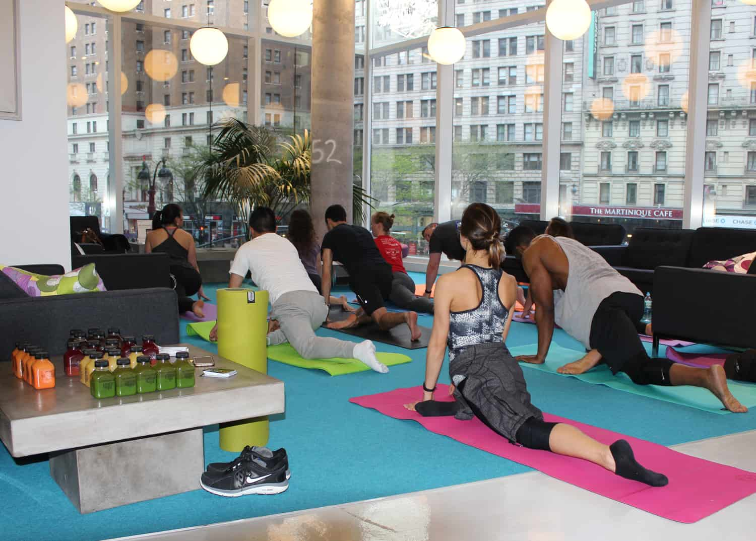 The Yard Herald Square coworking dedicated desks private offices nyc