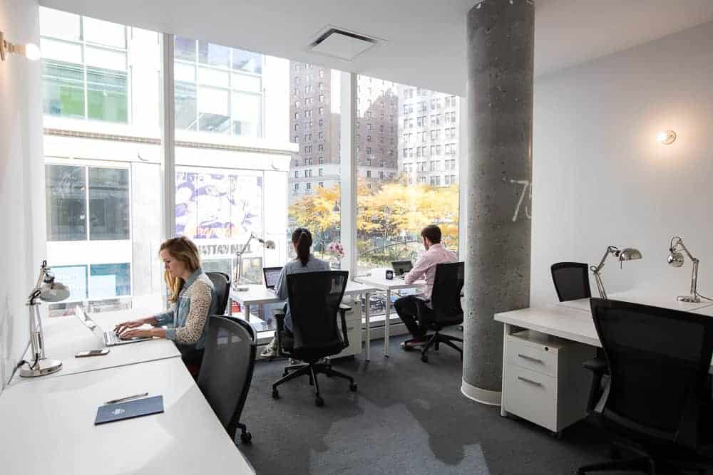 penn station The Yard coworking private offices nyc philly boston dc