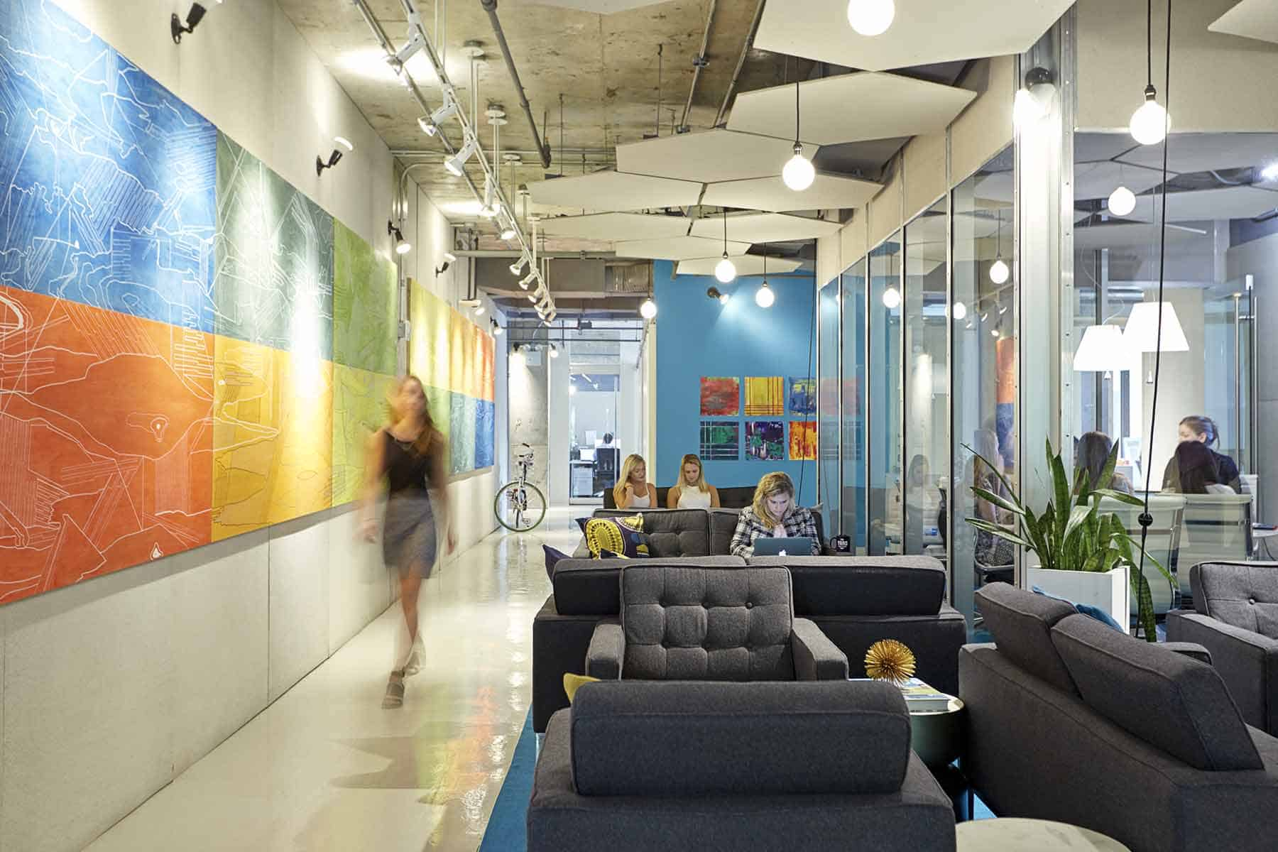 Coworking And Private Offices In Lincoln Square At The Yard