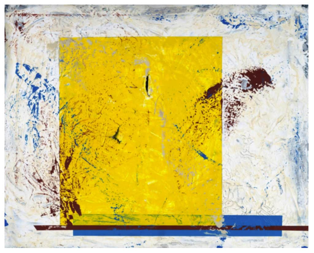 Untitled Yellow Square- Tim Strouss--artlifting-the_yard_back_bay-coworking_boston