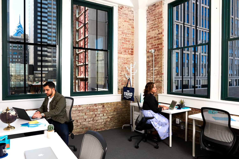 4-Desk Private Office Rentals