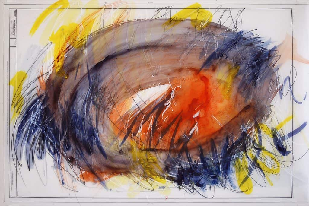 winter_art_show_at_bryant_park-coworking-Henning Haupt_Orange in Blue