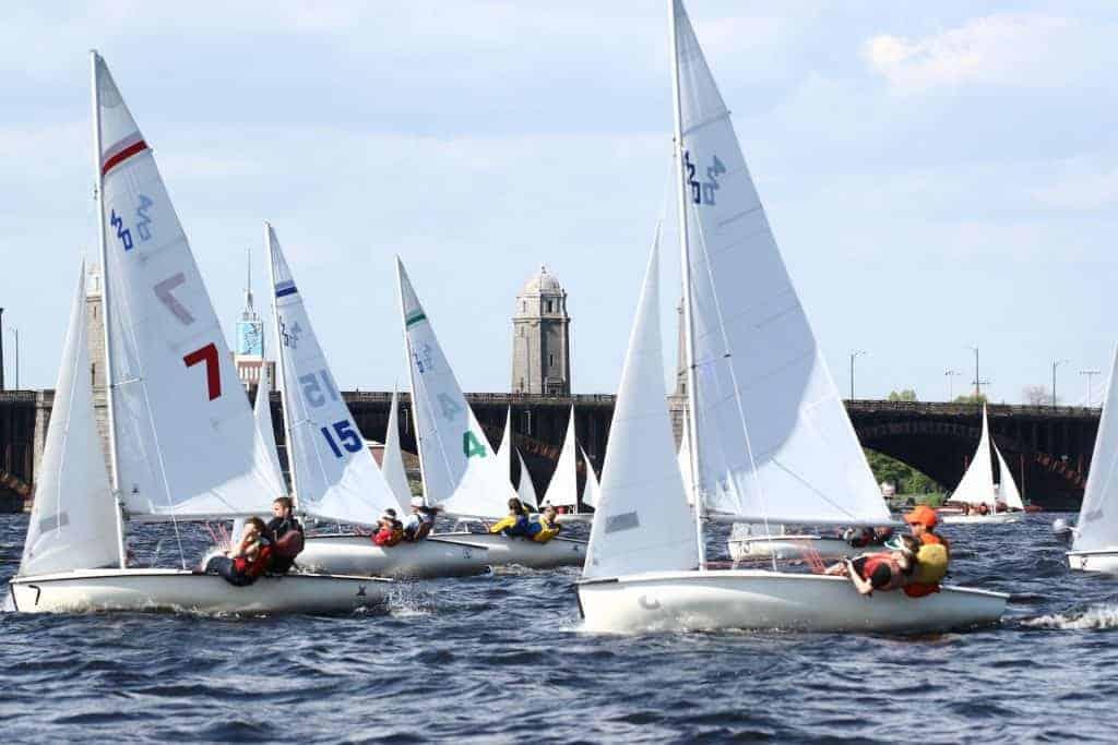 people sailing in Boston
