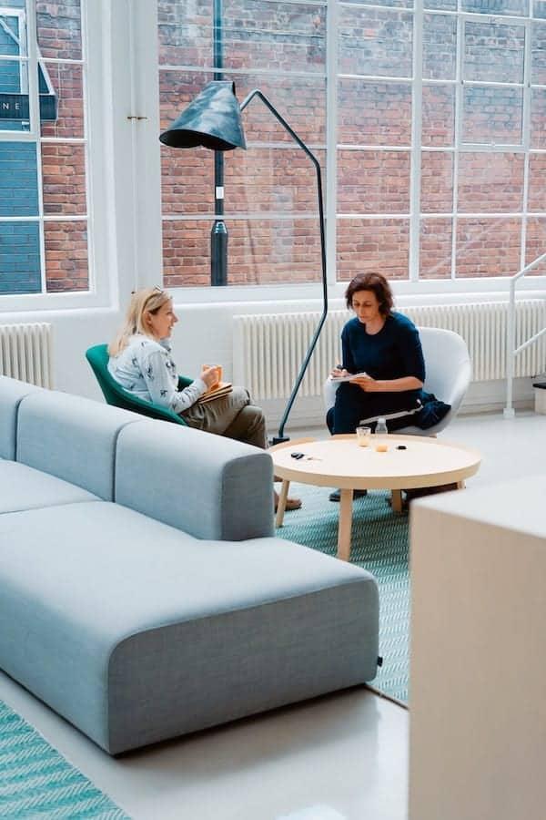 women having a meeting at work