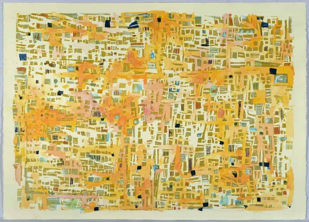 Artwork titled Circles (Orange Tickle) by Erina Shibata