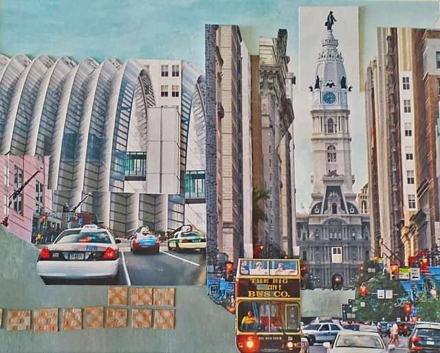 The Big Bus Artwork by Arlene Solomon